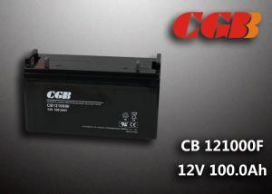 China CB121000F 12V 100Ah Valve Regulated Lead Acid Battery , Wind Supply Energy Storage AGM Battery on sale