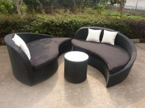 Quality orlando patio living leisure rattan bed for sale