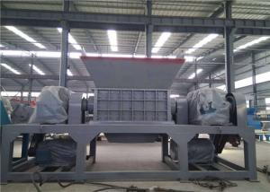 China Automatic Industrial Scrap Metal Shredder 5 Tons Capacity H13 Blade Material on sale