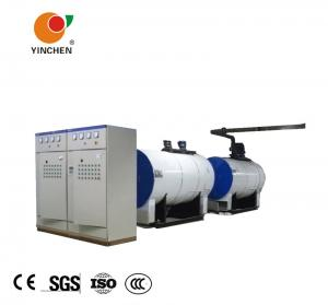China Single Drum Electric Hot Water Boiler For Hotel 0.35-2.1 Mw Thermal Power on sale