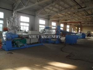China PVC Plastic Sheet Extrusion Machine , PVC Free Foamed Sheet For Decoration Production Line on sale