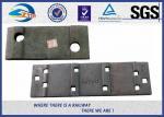 Molde llano del color o placas de lazo forjadas de ferrocarril para el carril UIC60