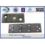 Molde liso da cor ou placas de laço forjadas da estrada de ferro para o trilho UIC60