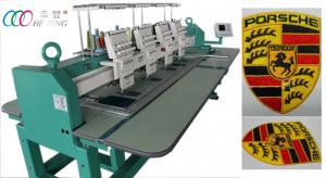China Digital Auto four Head Computerized Embroidery Machine For Hats / Jacket , 110V / 220V on sale