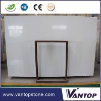 China WHITE PRIME ARTIFICIAL MARBLE COMPACT MARBLE ENGINEERED MARBLE STONE SLAB 320X160CM on sale