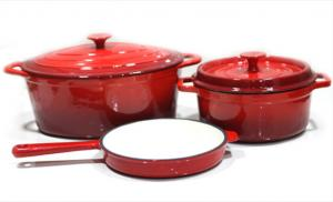 China Cooker for Enamel Coated Cast Iron Cookware on sale