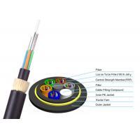 ADSS Double Jacket Optical Fiber Cable 200m Span G652D FOYC / Corning Fiber
