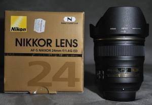 China Cheap Wholesale Nikon AF-S Nikkor 24mm f/1.4G ED Wide Angle Lens on sale