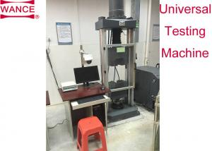 China Strand Steel Wire Tensile Testing Machine With Extra Long Jaw Face ASTM A416 Standard on sale