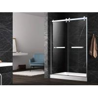 Hinge tempered glass shower doors,unique hinge shower door,tempered shower enclosure