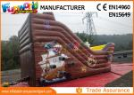 Custom Printing Inflatable Commercial Bouncy Castles With Slide