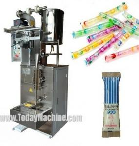 China VFFS Stick Pack Packaging Machinery for honey, sauce, syrup, ketchup, jam, butter on sale
