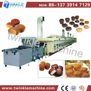 China TK-D400 AUTOMATIC CENTRAL-FILLING CAKE MAKING MACAHINE on sale