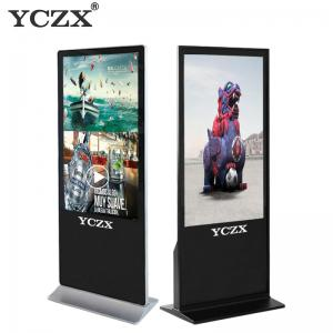 China 55 LCD Advertising Player , Smart Electronic Advertising Display Screen on sale