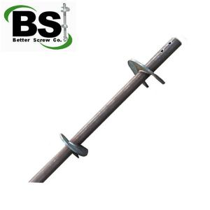 China helical pier and underpinning bracket for construction foundation repair on sale