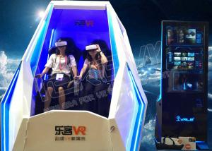 China Multi Seats 360 Degree 9D VR Experience , Interactive Virtual Reality 9D Egg VR Cinema on sale