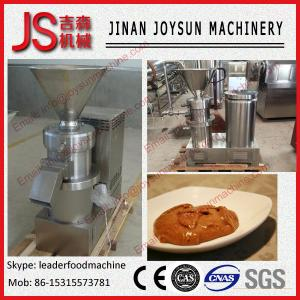 China high capacity industrial peanut butter making machines on sale