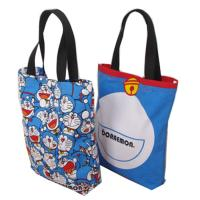 Eco Friendly Cute Doraemon Ladies Tote Bags Cotton Handbags for Womens