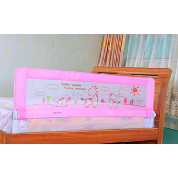 Safety Folded Childrens Bed Guards Rail Assembled For Twin Images