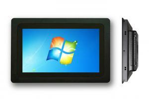 China Bezel 10.1 Capacitive Touch Monitor Panel Mount HDMI VGA DVI USB 3MM Thin on sale