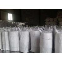 China White Color Insulation Blanket / Ceramic Fiber Blanket For Industrial Kiln / Furnave on sale
