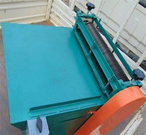 China 750Kg Weight Vulcanizing Rubber Sheet Cutting Machine on sale