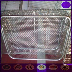 China China Sterilization Wire Mesh Basket for Medica PRICE on sale