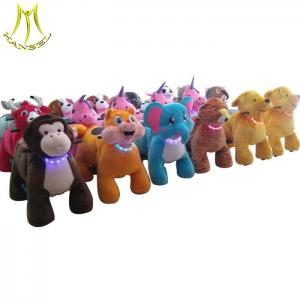 China Hansel  commercial walking animal toy ride electric animal mountables on sale