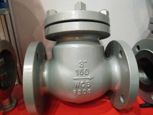 China API 600 Carbon Steel 150LB 3 Swing ANSI Flanged Check Valve WCB Check Valve on sale