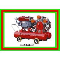 22HP 18.3kw 0.5Mpa Low Noise Mining Air Compressor , Piston Air Compressor
