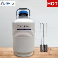 China TianChi 10L Portable Liquid Nitrogen Tank YDS-10-50 Chemical Storage Container Quotation on sale