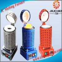 1-4kg Electric Gold Melting Furnace Mini Gold Melting Furnace with Crucible and Tongs