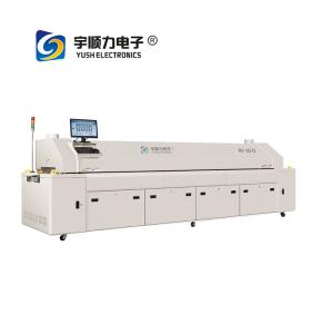 China 3 Phase Solder Reflow Oven / Lead Free Hot Air PCB Reflow Oven on sale