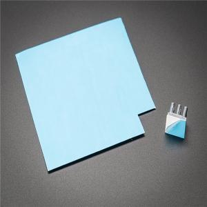 China Blue 2.5g/Cm3 2w/M.K High Temperature Silicone Sheet on sale