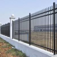 China Morden Exterior Wrought Iron Railings Home Depot Rod Iron Fencing Easy Install on sale