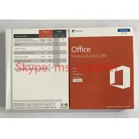 Microsoft Office 2016 Home And Business OEM Software PKC / Retail Version
