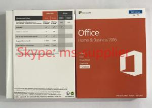China Microsoft Office Home and Business For MAC Product Key Card PKC Activation Online OEM Key on sale