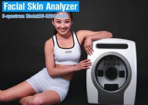 China Машина анализатора кожи волшебного зеркала поляризовыванного света ПЛ лицевая для Косметики Компании on sale