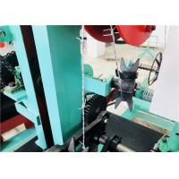 China Reverse Twisted Barbed Wire Making Machine , Barbed Wire Fencing Machine on sale