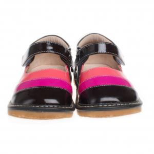 China fancy leather squeaky baby shoe SQ-A11305CF on sale