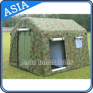 China 6 Person Large Waterproof Military Outdoor Inflatable Luxury Family Camping Tent on sale