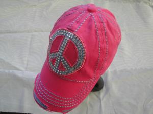 China 6 Panel Red Ladies Golf Caps 100% Cotton , Sports Cute Baseball Caps on sale