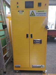 China Flame Proof Hazmat Storage Cabinets Single Door For Cylinder / Paint / Chemical Acid Alkai resistant on sale