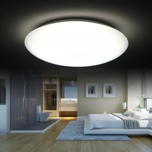 China IP40 LED Ceiling Light Fixtures Residential , Remote Control Dining Room Ceiling Lights on sale