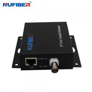 China 10/100M 1BNC port 1 RJ45 port Ethernet over Coaxial Extender 2KM on sale