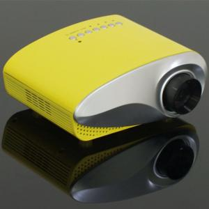 China Color Package Video Projector HDMI USB VGA Compatible For iPhone Android Phone Good Price on sale