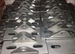 Silver Stainless Steel Construction Products , Stainless Steel Mounting Brackets GB Approved