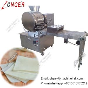 China Electric Spring Roll Sheet Maker, Samosa Pastry Sheet Making Machine on sale