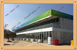 China High quality double Decker tent/Outdoor tent for temporary building with air conditioner for sale on sale