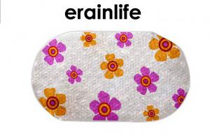 China Flower Home / Hotel Non Slip Bath Mat Shower Matting With PVC / PE material on sale